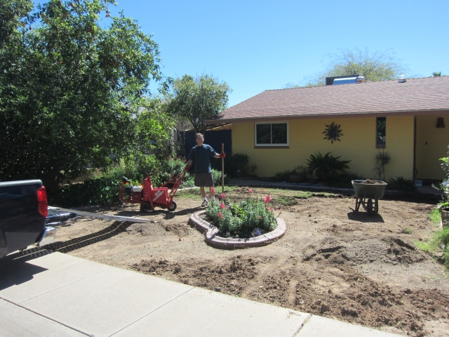 Garden Guru AZ Soil Removal Final Phase